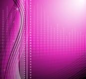 Fondo púrpura moderno stock de ilustración