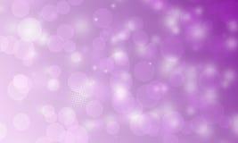 Fondo púrpura texturizado del bokeh ilustración del vector