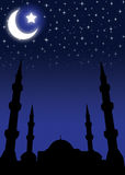 Fondo para Eid Foto de archivo