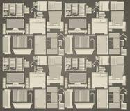 Fondo para el apartamento Fotografía de archivo libre de regalías