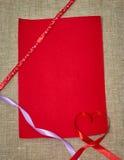 Fondo para el día de tarjeta del día de San Valentín Imagenes de archivo