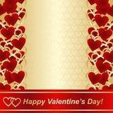 Fondo para el día de tarjetas del día de San Valentín o el diseño de la boda. Imagen de archivo