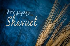Fondo para la celebración de Shavuot Imágenes de archivo libres de regalías