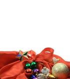 Fondo para la enhorabuena de Navidad Imágenes de archivo libres de regalías