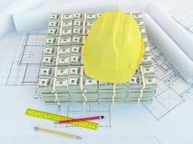 Fondo para la nueva construcción Foto de archivo libre de regalías