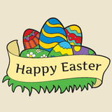 Fondo para Pascua Fotografía de archivo libre de regalías