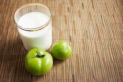 Fondo para una dieta sana Concepto sano de la consumici?n fotografía de archivo