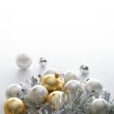 Fondo para una enhorabuena de la Navidad Foto de archivo