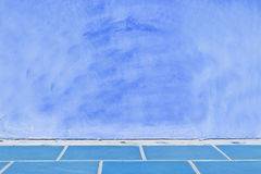 Fondo pastello blu della parete Immagine Stock Libera da Diritti