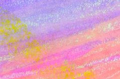Fondo pastello del lavaggio dell'inchiostro Bande diagonali Fotografia Stock