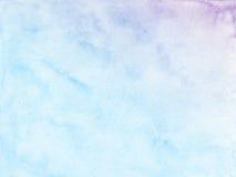 Fondo pastello di colore di acqua fotografie stock