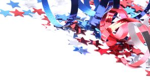 Fondo patriótico Foto de archivo libre de regalías