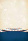 Fondo patriótico. ilustración del vector