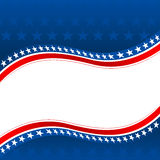 Fondo patriótico stock de ilustración