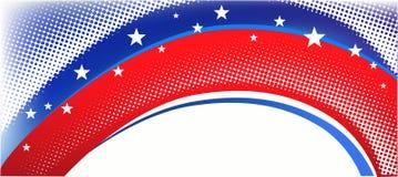 Fondo patriótico americano ilustración del vector