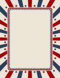 Fondo patriótico americano de la vendimia libre illustration