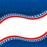 Fondo patriottico Immagini Stock