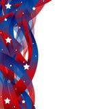 Fondo patriottico degli Stati Uniti Fotografia Stock