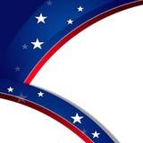 Fondo patriottico, MLK Fotografia Stock Libera da Diritti