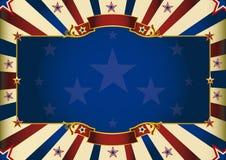 Fondo patriottico orizzontale fantastico illustrazione vettoriale
