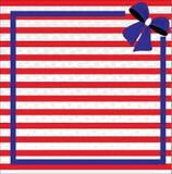 Fondo patriottico per il quarto di luglio Immagine Stock