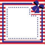 Fondo patriottico per il quarto di luglio Immagini Stock