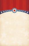 Fondo patriótico con el sitio para el espacio de la copia Imagenes de archivo