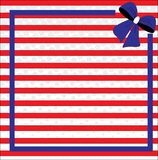 Fondo patriótico para el cuarto de julio Imagen de archivo