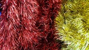 Fondo per il Natale, buon anno del lamé Fotografia Stock