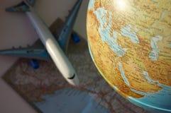Fondo per l'annuncio del viaggio: immagini stock libere da diritti