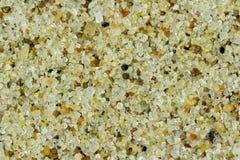 Fondo piano del fiume dell'uniforme fine asciutta della sabbia Fotografia Stock