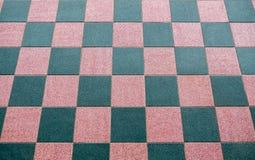 Fondo piano piastrellato a quadretti della tavola del pavimento Immagini Stock Libere da Diritti