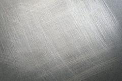 Fondo pieno di fruscii d'acciaio Fotografie Stock Libere da Diritti