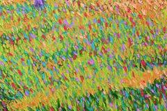 Fondo pintado acrílico abstracto Fotografía de archivo