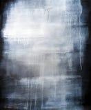 Fondo pintado azul artístico de alta resolución de la textura Foto de archivo