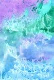 Fondo pintado con las acuarelas, ejemplo colorido lindo libre illustration