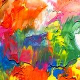 Fondo pintado de acrílico abstracto fotos de archivo libres de regalías