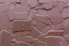 Fondo pintado de la textura del modelo de la pared de piedra fotos de archivo libres de regalías