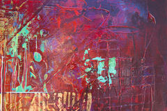 Fondo pintado extracto Foto de archivo libre de regalías