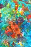 Fondo pintado extracto Fotos de archivo