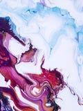 Fondo pintado a mano abstracto stock de ilustración