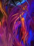 Fondo pintado a mano abstracto creativo, papel pintado, textura, c imagen de archivo