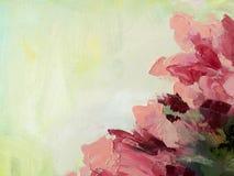 Fondo pintado a mano de acrílico abstracto imagen de archivo