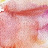 Fondo pintado a mano de la acuarela imágenes de archivo libres de regalías