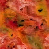 Fondo pintado a mano de la acuarela abstracta Fotos de archivo