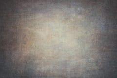 Fondo pintado a mano del algodón gris de Brown Fotografía de archivo