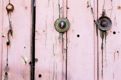 Fondo pintado rosa Foto de archivo libre de regalías