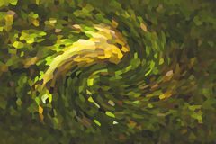 Fondo pixeled rotazione astratta Fotografia Stock Libera da Diritti