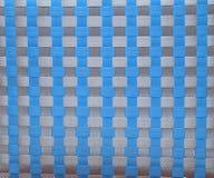 Fondo plástico texturizado trenzado foto de archivo libre de regalías