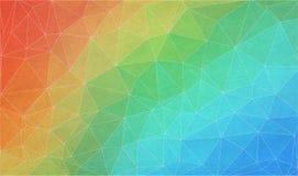 Fondo plano de la pendiente del triángulo con textura del grunge Imagenes de archivo